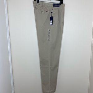 NWT Polo Ralph Lauren Pleated Khakis Men's 40 Tall